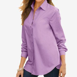 2 Roaman's Kate Shirts New! 22W